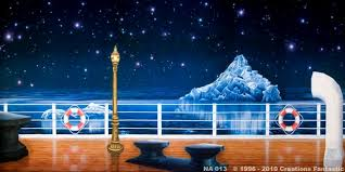 prom backdrops na013 titanic deck 3