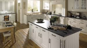 edwardian platinum white kitchen traditional white kitchens by