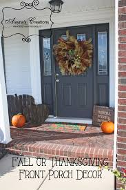 how to take your fall front porch from halloween to thanksgiving