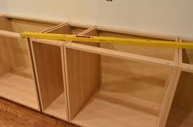 cabinet building kitchen cabinets plans ana white tiny house