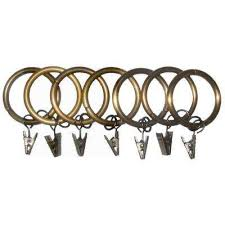 curtain rings gold images Gold curtain rings clips curtain rods hardware the home jpg