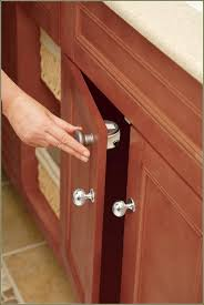 Cabinet Door Lock by Cabinet Door Magnetic Lock Key Kit Baby Safety Locks For Cabinets