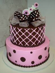 baby shower cake ideas pink and brown u2013 diabetesmang info