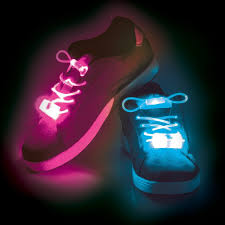 Glow In The Dark Lights Glow In The Dark Led Lace Lights Fits All Shoes All Sizes Red