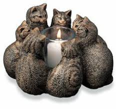 canadiana circle of friends candle holder with marble base