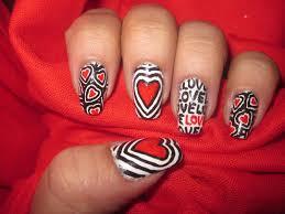 heart nail designs just women