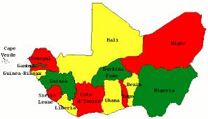 west africa map blank bauzeitgeist borders states