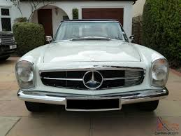 mercedes 230sl pagoda w113 manual 1964 rhd
