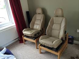 Home Furniture Chairs Home Made Car Seat Chairs So Comfy Creative Uses For Car Parts