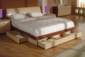 Easy Platform Bed With Storage 5 Diy Platform Beds Homedecorxp Com