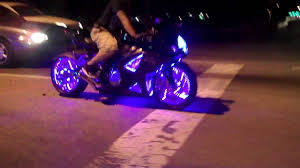 cool light up things light up your bike with leds by all things chrome youtube