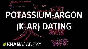 potassium argon k ar dating cosmology u0026 astronomy khan