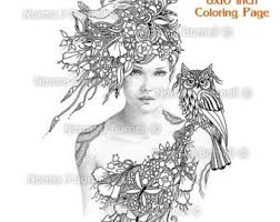 fairy tangles printable coloring sheets norma burnell