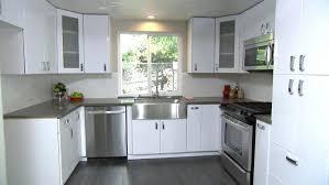 White Brick Backsplash Kitchen - cabinets stunning white brick backsplash in kitchen contemporary