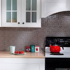 Decorative Backsplash Fasade 24 In X 18 In Fleur De Lis Pvc Decorative Tile Backsplash