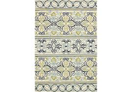 8 11 Rug Gustavia Blue 8 U0027 X 11 U0027 Indoor Outdoor Rug Rugs Blue
