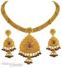 gold antique necklace set images Mothers day pendants indian bridal necklace bridal necklace sets jpg
