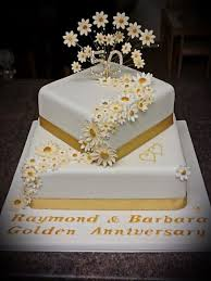 golden wedding cakes ruby wedding anniversary cake creative ideas