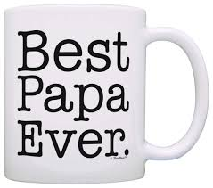 amazon com father u0027s day gift best papa ever birthday gift coffee