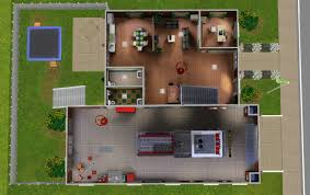 Fire Station Floor Plans by Mod The Sims The Hanover Street Fire House Station 3