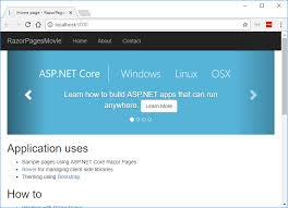 photo pages get started with razor pages in asp net microsoft docs