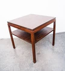Floating End Table by Mid Century Modern Side Table Gunlocke End Coffee Table