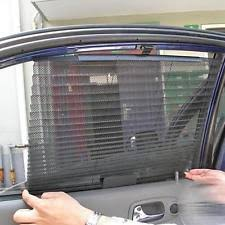Magnetic Curtains For Car Retractable Sun Shade Ebay
