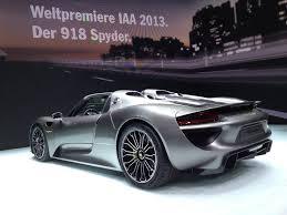 porsche 918 spyder engine 2013 frankfurt porsche u0027s all new supercar debuts alongside its 50
