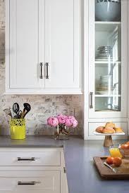 mini subway tile kitchen backsplash calcutta marble subway tile backsplash design ideas