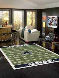 Dallas Cowboys Area Rug Area Rug Features High Quality 100 Heavy Woven Polyester Fabric