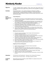Brand Ambassador Job Description Resume by Kimberlykeeler Marketing Resume 2012