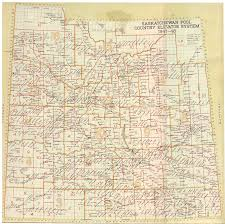 Map Of Saskatchewan Canada by Sask Wheat Pool 60 Years 1924 Map And 1984 Map