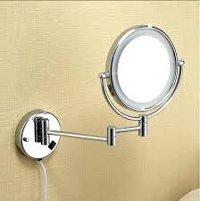 zadro lighted makeup mirror magnifying wall mount mirror with light s zadro 10x magnifying