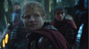 game of thrones season 7 episode 1 ed sheeran makes painfully