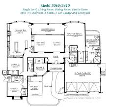 large one story house plans contemporary design large one story house plans pusch ridge vistas