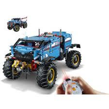lego technic 6x6 remote control terrain tow truck 42070