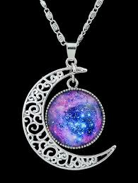 purple gemstone necklace images 66 lunar necklace lunar moon and star necklace lost at sea jpg