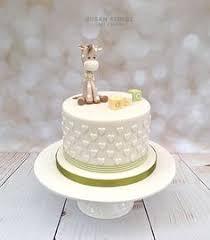fondant baby giraffe cake topper baby shower giraffe art