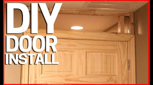 can you use an existing door for a barn door how to install a new door in an existing room drywall