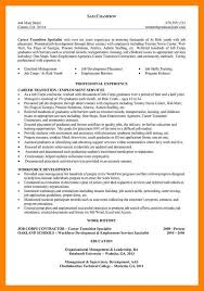 career transition resumes resume examples career change career