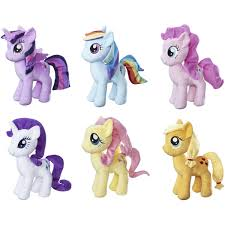 my little pony big w my little pony friendship is magic cuddly plush assorted