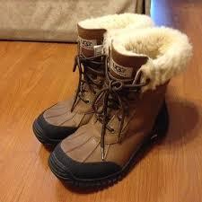 ugg s adirondack otter waterproof boots ugg boots otter adirondack ii twilight swan