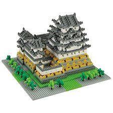 Himeji Castle Floor Plan Castle Building Toys Ebay