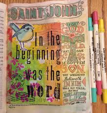 journaling the bible the grace to create and play in god u0027s holy word