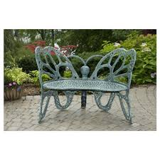 Butterfly Patio Chair Flowerhouse Butterfly Bench Antique 425239 Patio Furniture At