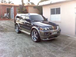 mitsubishi pajero sport modified gorilax 2000 mitsubishi montero sport specs photos modification