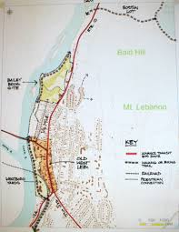 Lebanon Hills Map A Vision For Recreational Access In West Lebanon U2014 River Park West