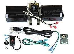 hongso replacement gfk 160 gfk 160a fireplace blower fan kit for