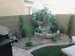 marvellous water feature ideas for small backyards photo