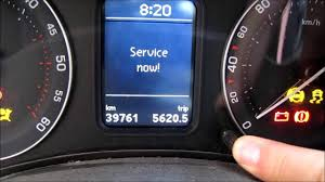resetting the service interval for skoda octavia 2 audio english